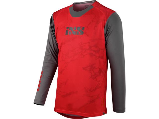 IXS Trigger X Air Jersey Men red/graphite